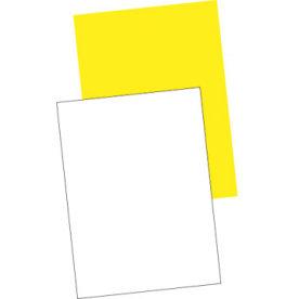 Plakatpapir 60x85 neon (250), gul