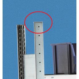 META Clip topstykke i plast til gavl, enkeltsidet