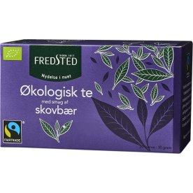 Fredsted skovbær økologisk te, 20 breve