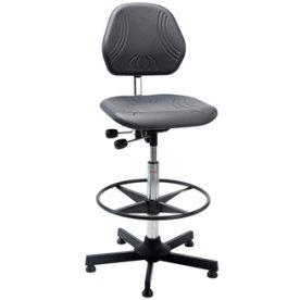 Comfort arbejdsstol, formstøbt PU skum, fodring