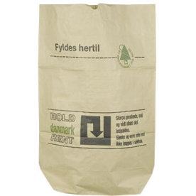 Papirsæk 110 liter, 700 x 1100 mm, brun