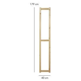 ABC Reolstige HxD: 179x40 cm, natur