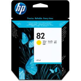 HP nr.82/C4913A blækpatron, gul, 69 ml
