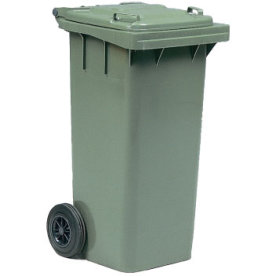 Affaldsvogn 120 l, Grøn