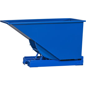 Tipcontainer 600 l, blå