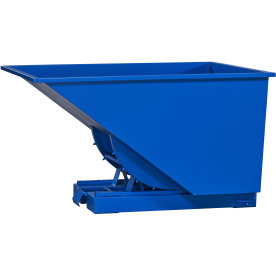 Tipcontainer 900 l, blå