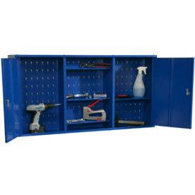 Værktøjsskab model 2, 60x120x20, Blå