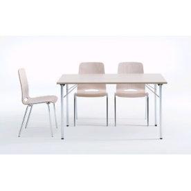 Ultima bord med klapstel 80X140 cm, bøg melamin