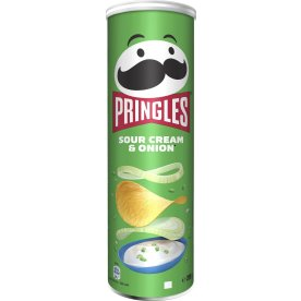 Pringles Sour Cream & Onion, 165g