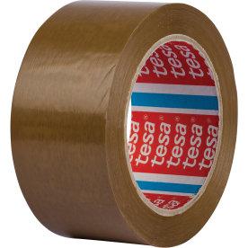 tesa Pakketape, 50 mm, præget PVC, brun