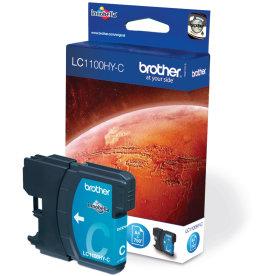 Brother LC1100HYC blækpatron, blå, 700s