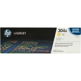 HP 304A/CC532A lasertoner, gul, 2800s