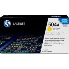 HP CE252A lasertoner, gul, 7000s