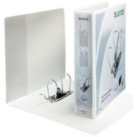 Leitz vinduesbrevordner, 80mm, hvid