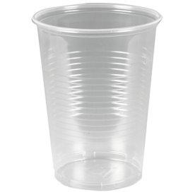 Plastglas 50cl, blød splintfri, med tappestreg