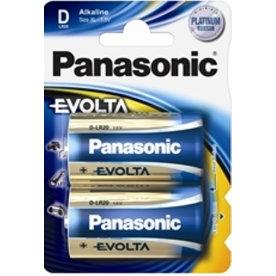 Panasonic str. D Alkaline Evolta, 2stk