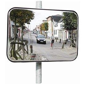 Trafikspejl akryl, firkantet 80x100 cm