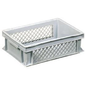 Lagerkasse perforeret 10 liter,(LxBxH) 40x30x12 cm