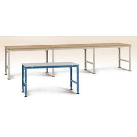 Manuflex prof arb.bord,150x70,Multiplex,Grå,Tilbyg