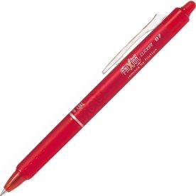 Pilot Frixion Clicker kuglepen, 0,7 mm, rød