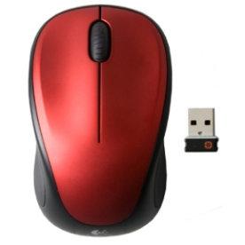 Logitech Wireless Mouse M235, rød