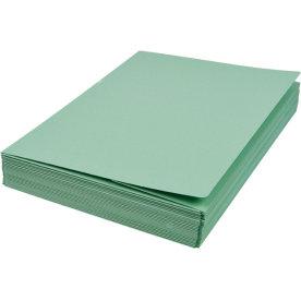 DKF Kartonmappe nr. 105/3, A4, grøn
