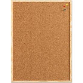 Pinboard opslagstavle, 60 x 80 cm, kork