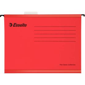 Esselte Classic hængemappe A4, rød