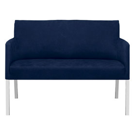 Florence 2 pers. sofa blå