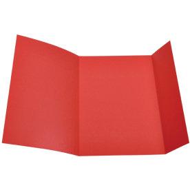 DKF Kartonmappe nr. 103, folio, rød