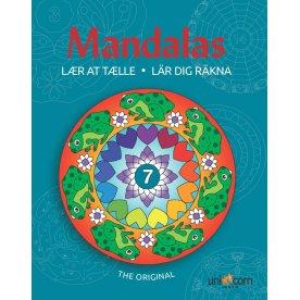 Mandalas malebog Lær at tælle