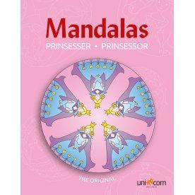 Mandalas malebog Eventyrlige prinsesser