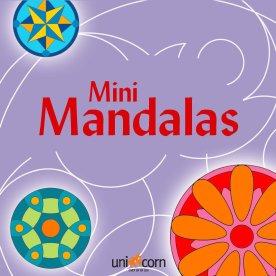 Mini Mandalas malebog, lilla