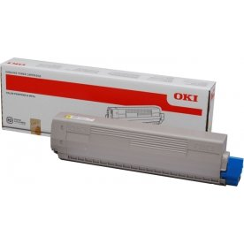 OKI 44844613 lasertoner, gul, 7300s.