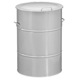 Circle affaldsbeholder 160 l, Galvaniseret