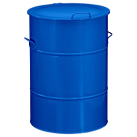 Circle affaldsbeholder 160 l, Blå
