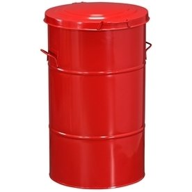 RETRO affaldsbeholder 115 l, Rød