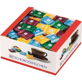 Ritter Sport Quadretties 1 kg.(200 stk. ass.)