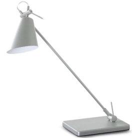 First LED lampe sølvfarvet
