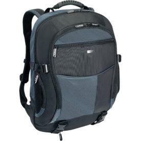 "Targus XL Notebook Backpack, 17""-18"", Sort/blå"