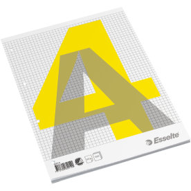Esselte standardblok A4, kvadreret, toplimet