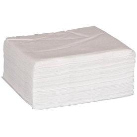 Servietter 2-lags 40 x 40 cm, 100 stk, hvid