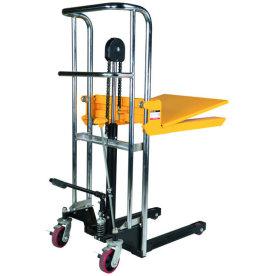Mini-stabler m/manuelt løft, 85-850 mm, 400 kg