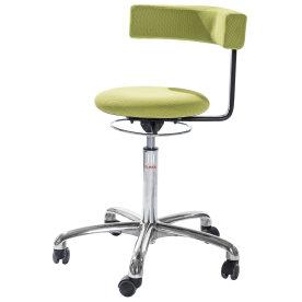 CL Saturn stol, grøn, stof, 49-69 cm