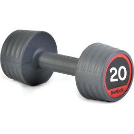 Reebok Gummi Håndvægt, 20 kg