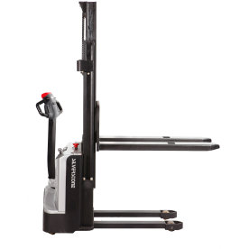 Fuld-elektrisk gåstabler, 3300 mm, 1000 kg