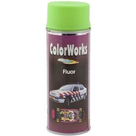 ColorWorks hobbyspray, fluorescerende grøn