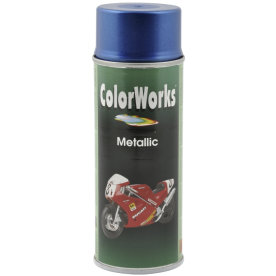 ColorWorks hobbyspray, metallic blå