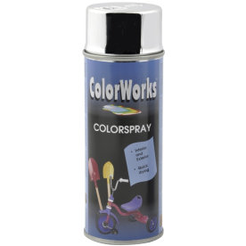 "ColorWorks hobbyspray, ""chrome"""
