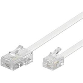 Microconnect MPK463 telefonkabel hvid
